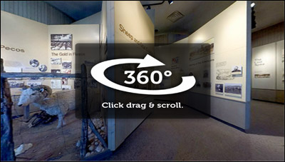 360-degree view of the Seminole Canyon Visitor Center