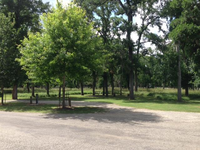 Stephen F Austin State Park Full Hookup Campsites Texas