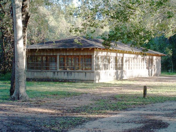 Stephen F Austin State Park Group Screened Shelter