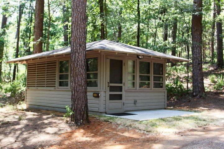 Outside Cabin #1.