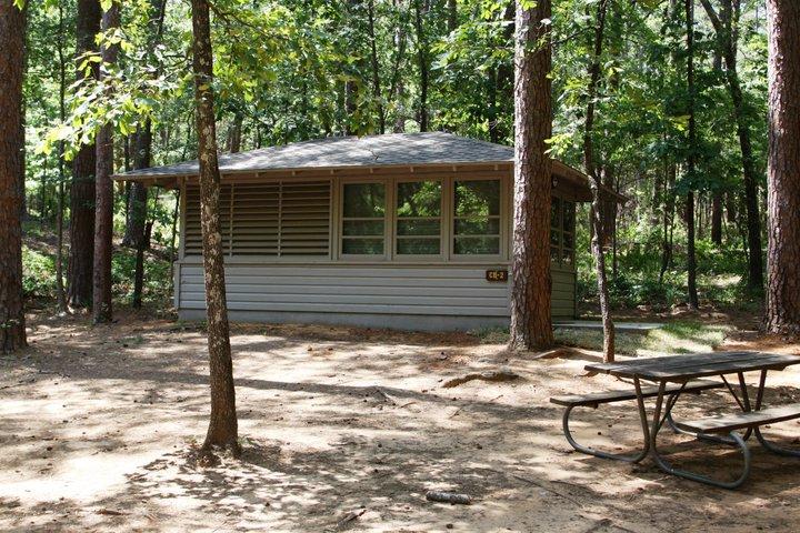 Outside Cabin #2.