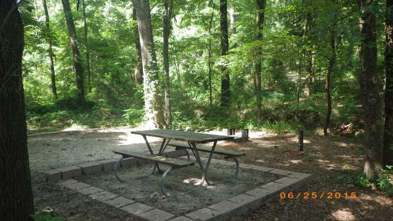 Basic Campsite #148 in the Sumac Bend area