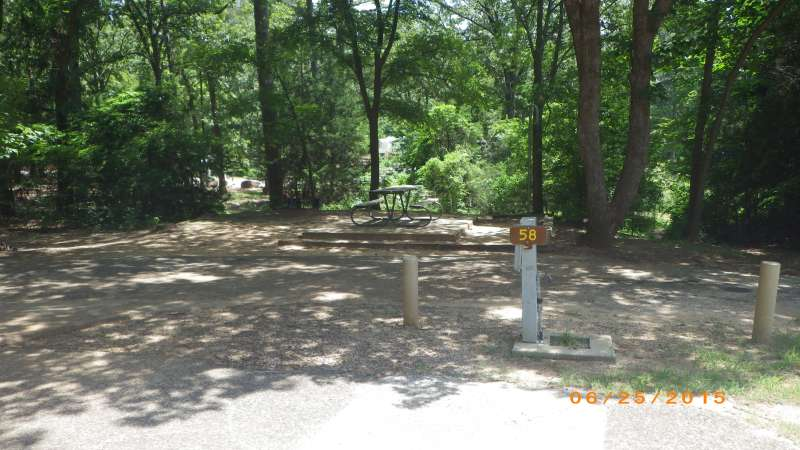 Tyler State Park Campsites With Electric Water Amp Sewer