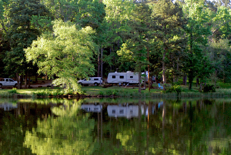 Tyler State Park Premium Lakeview Campsites With