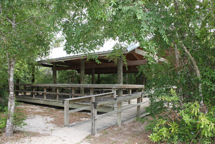The Group Picnic Pavilion.