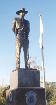 Game Warden Memorial Statue