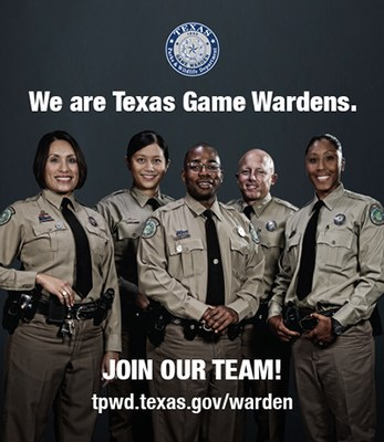 Four Game Wardens standing in uniform