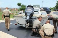Marine Investigations Unit scours boat
