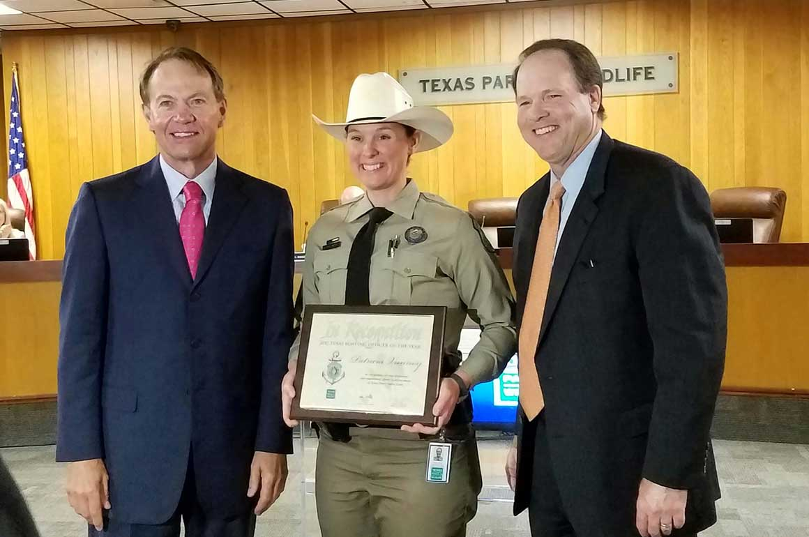 Patricia Vannoy - Texas Boating Officer of the Year