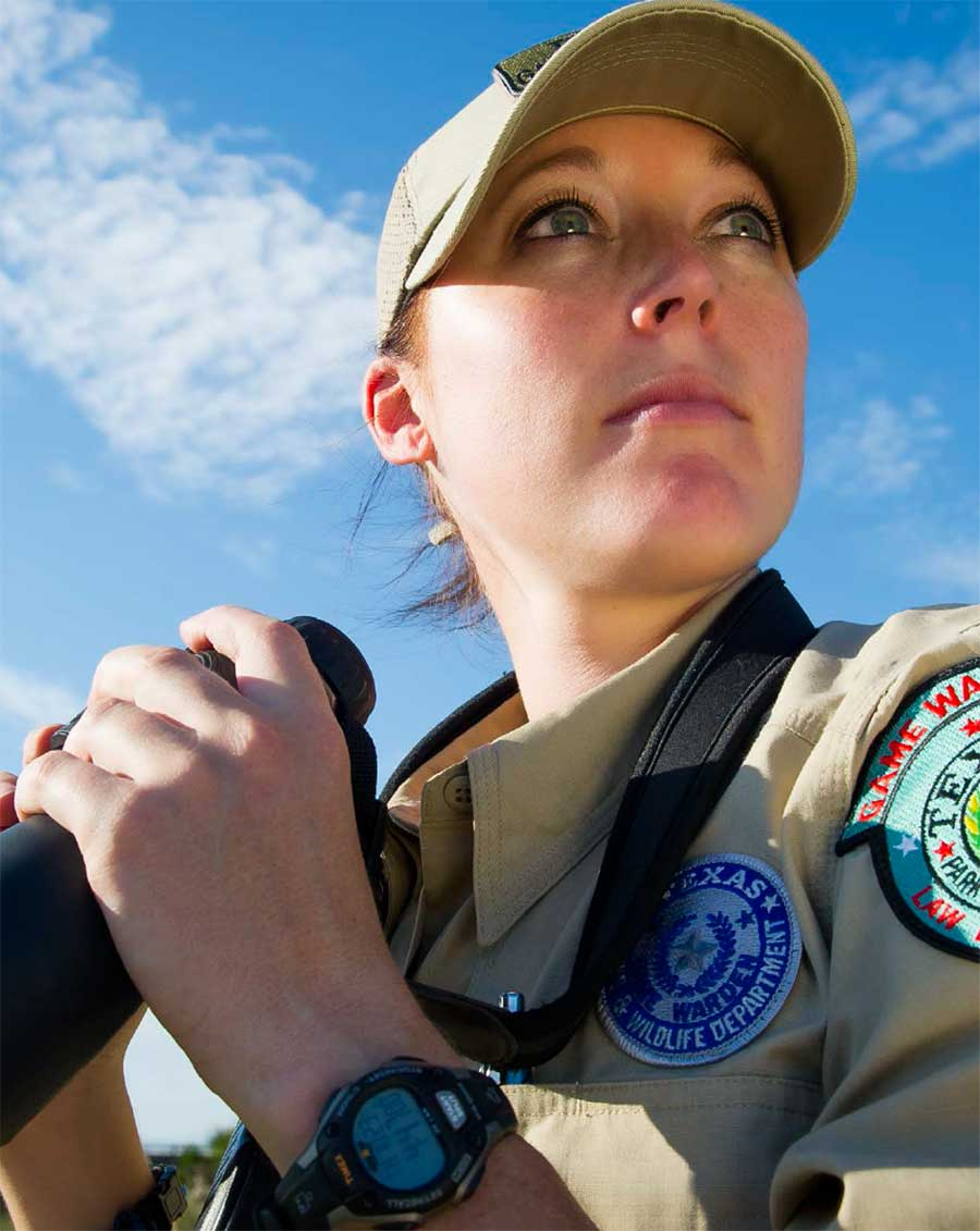 Female Game Warden