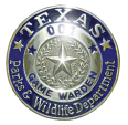 Texas Game Wardens Gold Badge
