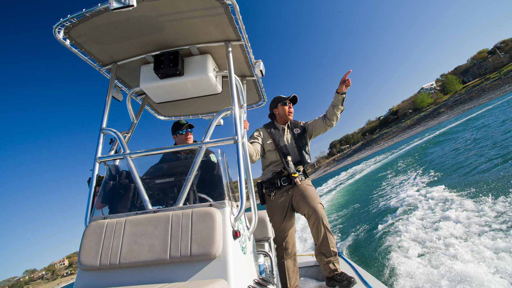 Texas game wardens tpwd for Game and fish
