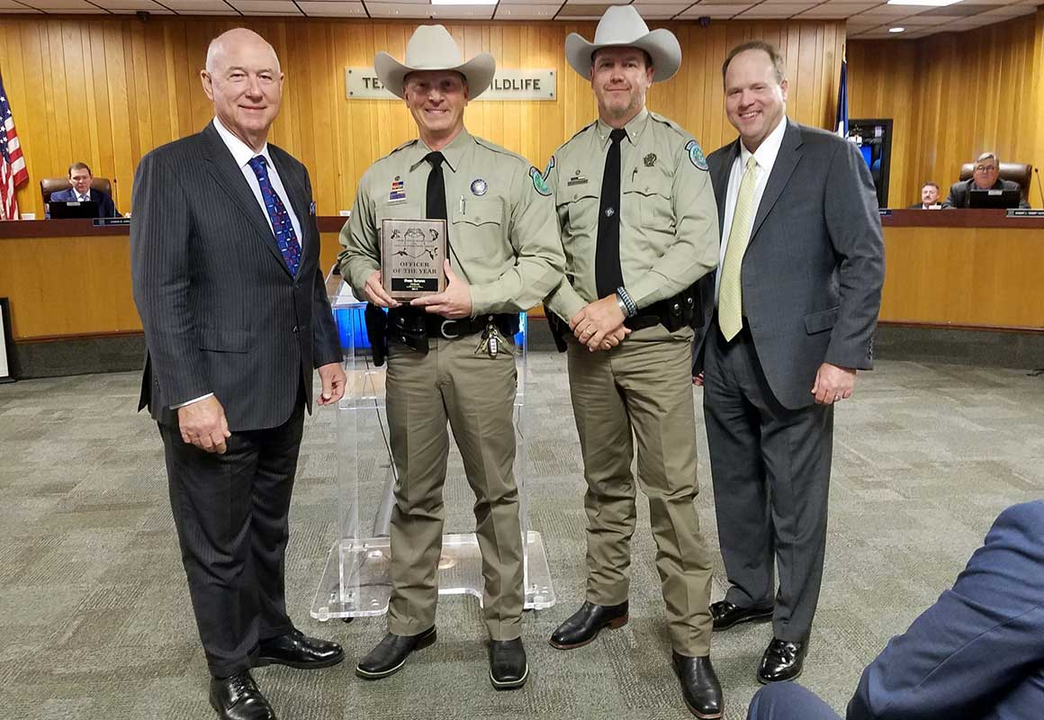 Sean Reneau - 2019 Midwest Officer of the Year