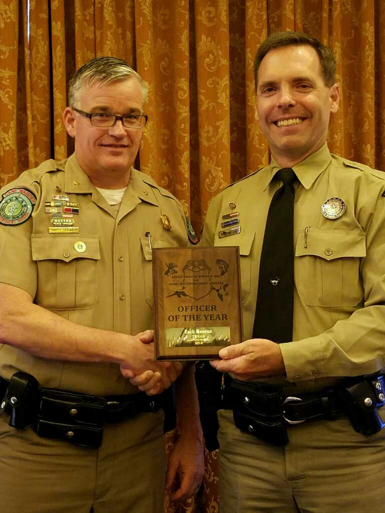 Association Midwest Fish & Game Law Enforcement Officer of the Year - Zach Havens