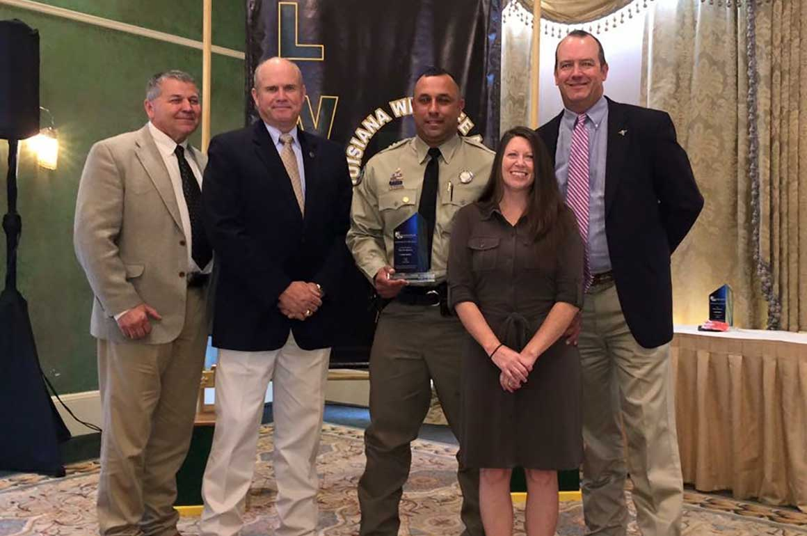 Southeast Association Officer of the Year - Warden Heath Bragg