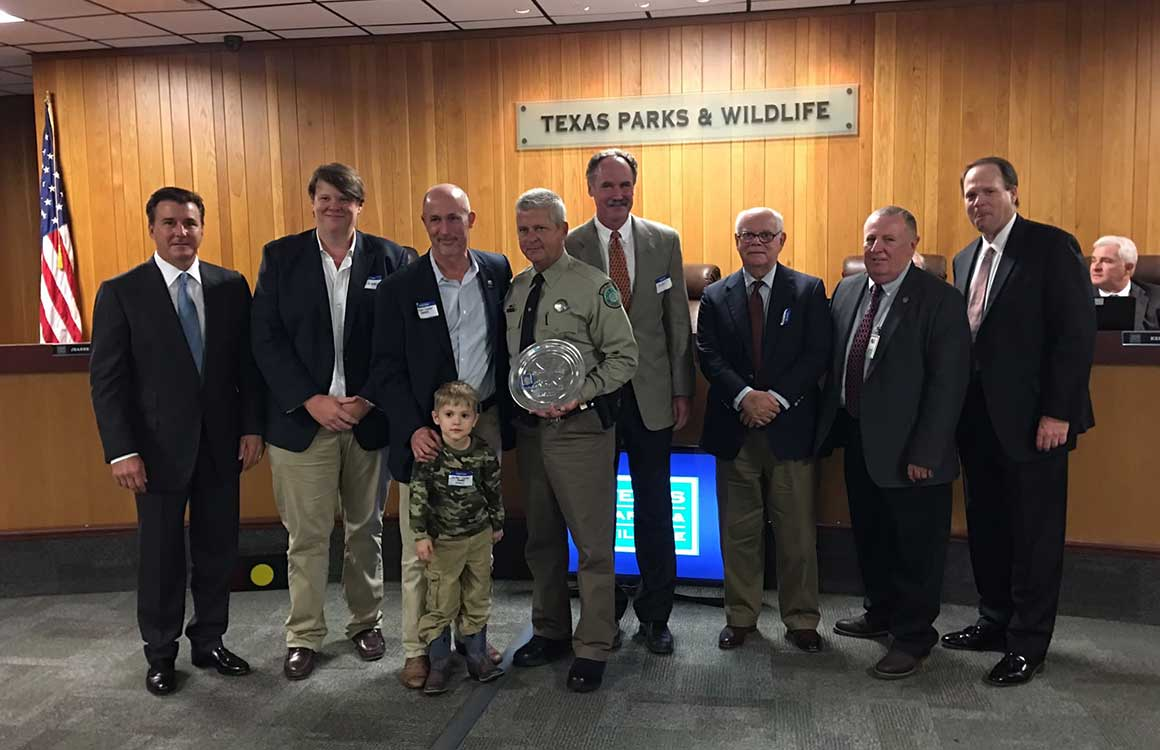 Shikar-Safari Club International Texas Wildlife Officer of the Year - Warden Michael Boone