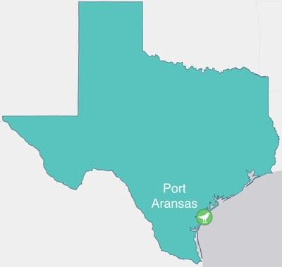 Port Aransas location